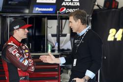 Jeff Gordon, Hendrick Motorsports Chevrolet with Ray Evernham