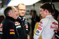 Franz Tost, Scuderia Toro Rosso Team Principal with Max Verstappen, Scuderia Toro Rosso