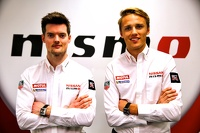 Alex Buncombe and Max Chilton
