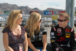 Brandon Whitt, sister Brittany and mother Karen