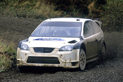 Mark Higgins tests the new 2006 Ford Focus RS World Rally Car