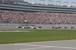 Restart: Ryan Newman leads the field