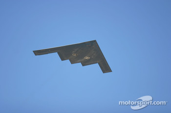 Stealth Bomber Flyover