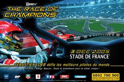The first official poster for The Race of Champions 2005