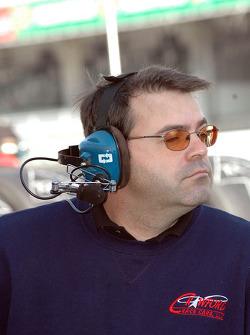 Howard-Boss Motorsports crew member
