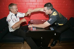 Russell Ingall and Craig Lowndes
