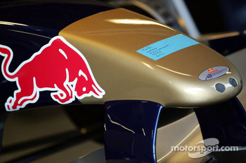 Nose cone of the Red Bull Racing car