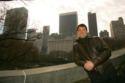 Tony Stewart visits Central Park