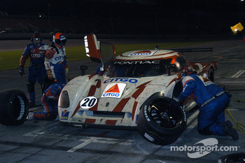 Pitstop for #20 CITGO - Howard - Boss Motorsports Pontiac Crawford: Andy Wallace, Jan Lammers, Tony Stewart