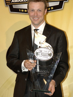 NASCAR Nextel Cup Awards Banquet at the Waldorf Astoria Hotel: Matt Kenseth