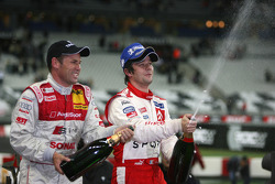 Champagne for Sébastien Loeb and Tom Kristensen