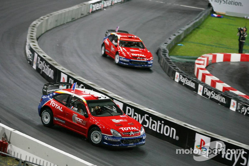 Semi final: Sébastien Loeb and Colin McRae