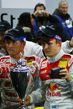 Nations Cup 2005 winners Tom Kristensen and Mattias Ekstrm celebrate