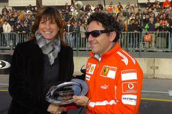 Giada Michetti and Luca Baldisseri