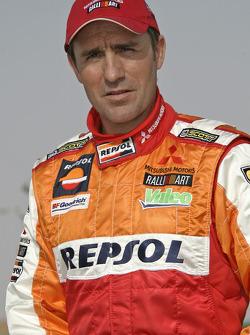 Team Repsol Mitsubishi Ralliart: Stéphane Peterhansel