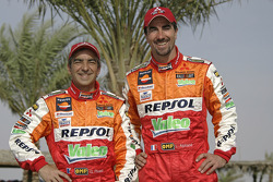 Team Repsol Mitsubishi Ralliart: Luc Alphand and Gilles Picard
