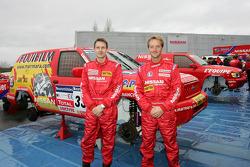 Team Nissan Dessoude presentation: Benoit Rousselot and Sylvain Poncet