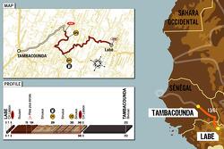 Stage 13: 2006-01-13, Labé to Tambacounda