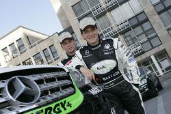 Kwikpower Mercedes-Benz Team: Ellen Lohr and Detlef Ruf