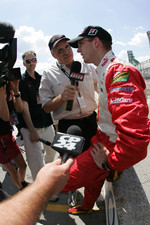 Interviews for pole winner Sbastien Bourdais