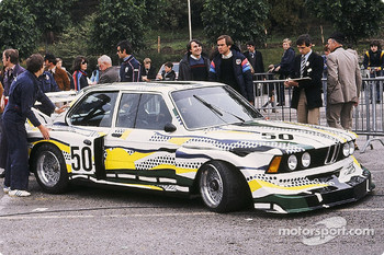 #50 Herv Poulain BMW 320i