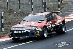#87 Bernard Decure Alpine-Renault A310: Bernard Decure, Jean-Luc Thérier, Cochise