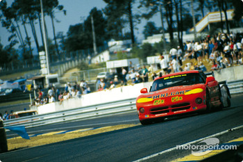 #40 Dodge Viper RT/10: Ren Arnoux, Justin Bell, Bertrand Balas