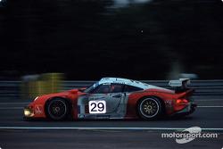 #29 JB Racing Porsche 911 GT1: Alain Ferté, Olivier Thévenin, Jürgen von Gartzen