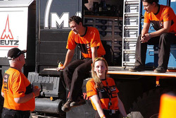 KTM team members at work