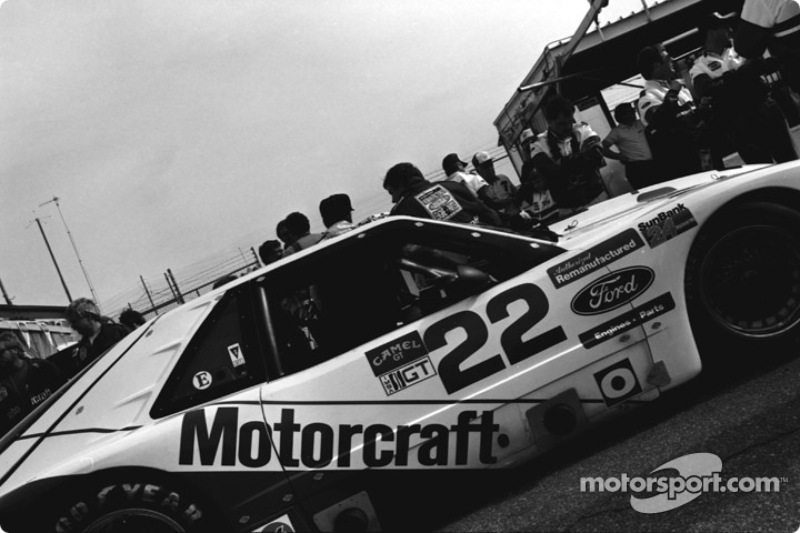 #22  Overbaugh Mercury Capri: Mark Martin, Lyn St. James, Deborah Gregg, Pete Halsmer