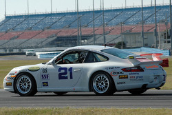 #21 Bodymotion Racing Porsche 997: Michael Bravaro, Colin Dougherty