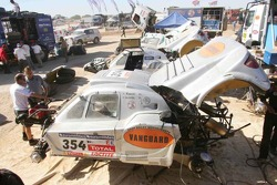 Vanguard Racing service area