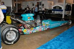 Bob Kodadek's Super Comp dragster, powered by a 502 big block Chevy