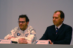 Jacques Villeneuve and Willy Rampf