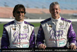 Christian Fittipaldi and Eddie Cheever