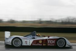 #1 Audi Sport North America Audi R10: Frank Biela