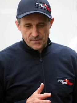 Scuderia Torro Rosso team chef Franz Tost