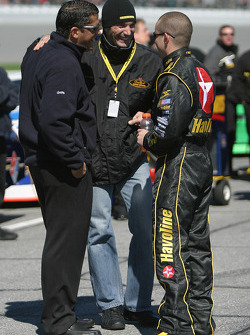 Max Papis and Casey Mears