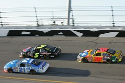 Ken Schrader, Kyle Busch and Elliott Sadler