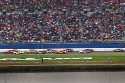 Three wide on Daytona's