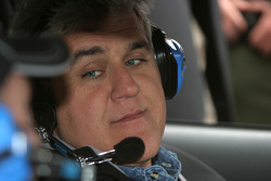 Jay Leno on duty in the pace car