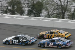 Ryan Newman, Matt Kenseth and Kurt Busch