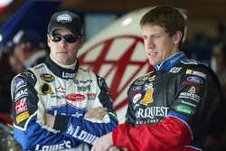 Jimmie Johnson and Carl Edwards