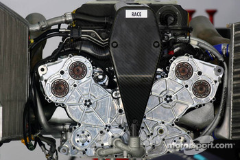 Williams Cosworth engine