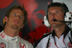 Jenson Button and Nick Fry