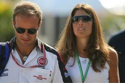 Rubens Barrichello with Silvana