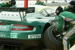 #009 Aston Martin Racing Aston Martin DB9: Jason Bright, Pedro Lamy, Stéphane Sarrazin