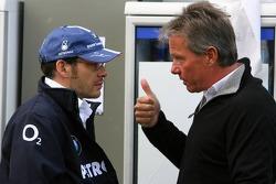 Jacques Villeneuve and Craig Pollock
