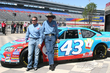 Richard Petty/Bobby Labonte Press Conference