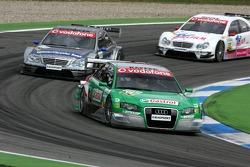 Pierre Kaffer leads Bruno Spengler and Stefan Mücke